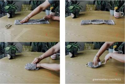 Cara membuat masker kain