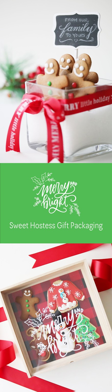 Sweet hostess gift wrapping inspiration | Creative Bag and Bake Sale Toronto