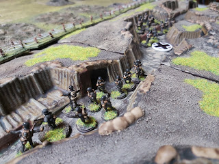 More German infantry arrive to defend their lines