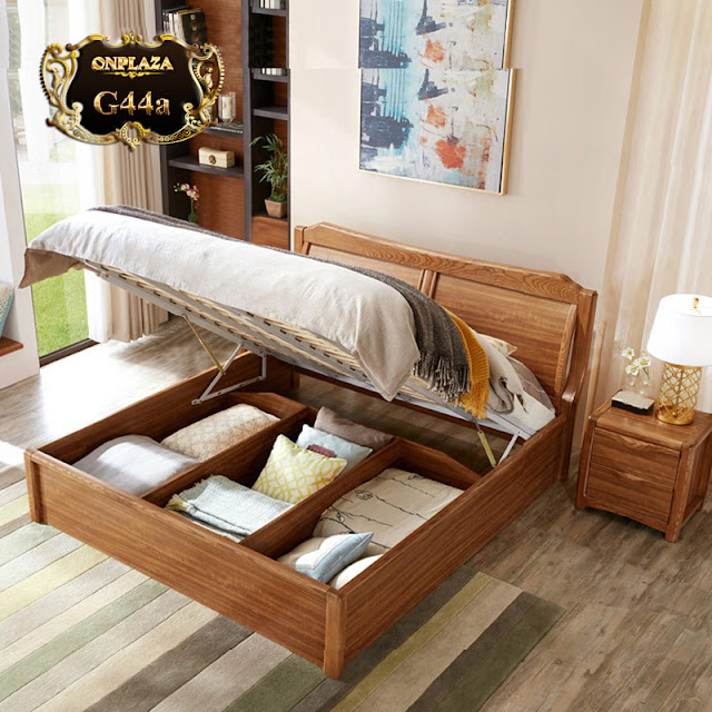 Chọn giường ngủ gỗ tự nhiên phù hợp căn phòng
