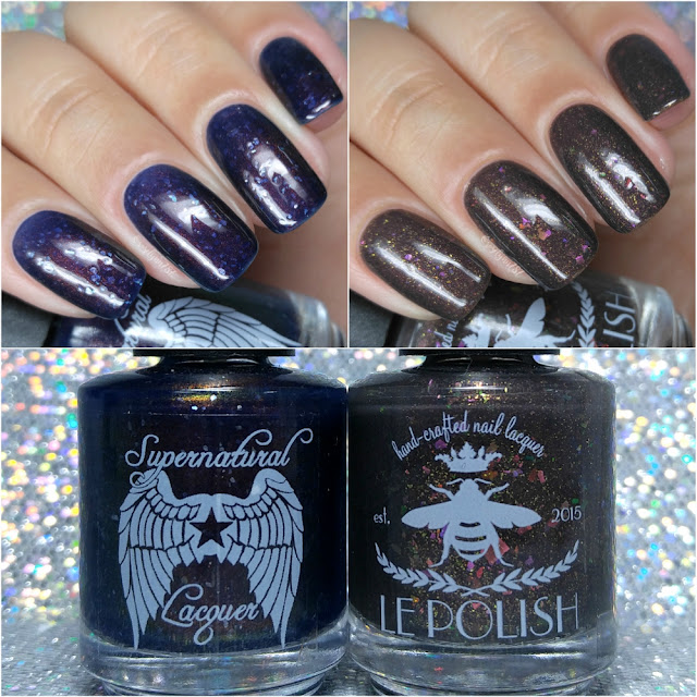 Supernatural Lacquer - The Nightmare Before Christmas Duo ft. le Polish