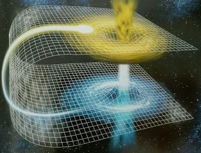 Espacio-tiempo curvo de la Relatividad General