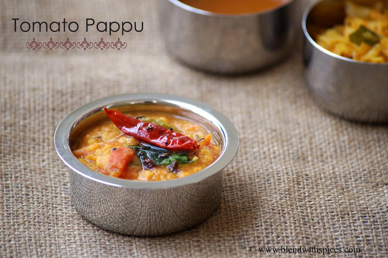 tomato dal recipe, how to make tomato dal, andhra tomato pappu recipe, tomato pappu andhra style