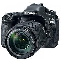 Kredit Canon EOS 80D Wifi Body Only