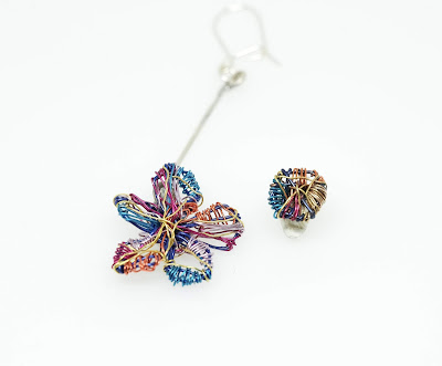 Art jewelry, Jewelry colorful geometric