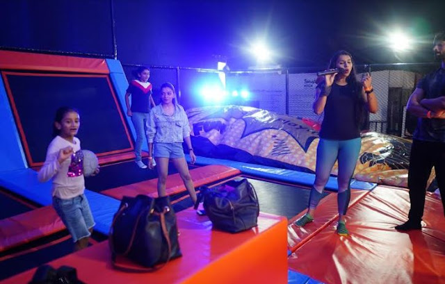 Jump in to Fun at SMAAASH as it launches the biggest trampoline park in South Mumbai