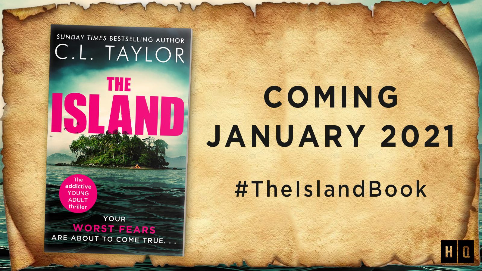 The Island by CL Taylor | Cover Reveal anbd Excerpt