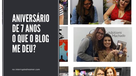 7 coisas que o blog me deu