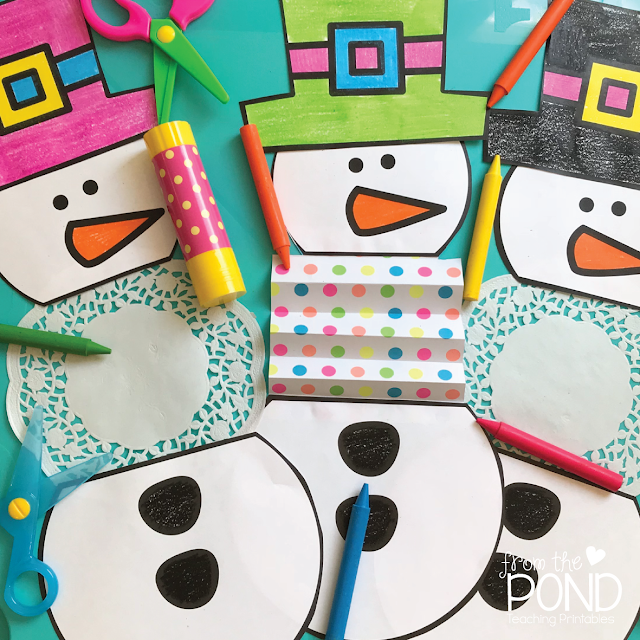 Free Snowman Paper Craft