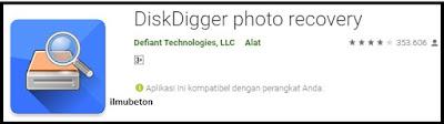 Aplikasi Disk Digger
