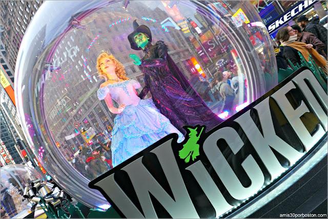 Bolas de Cristal en Times Square, Nueva York