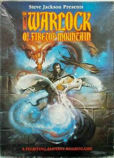 Games Workshop Warlock of Firetop Mountain
