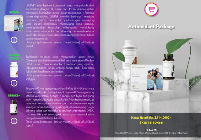 Paket Antioksidan Suplemen Nu Skin