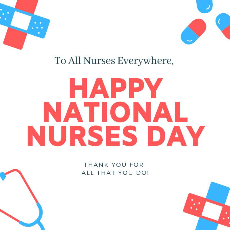 National Nurses Day Wishes for Instagram