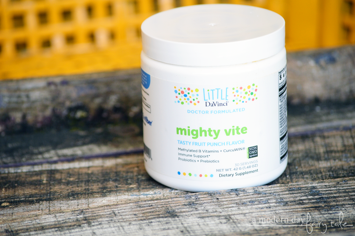A Supplement Your Kids Will WANT to Take: Little DaVinci® mighty vite! {A #MomsMeet Review + #littledavinci Coupon}