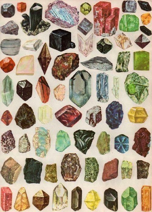 Minerais | Recursos Naturais Inorgânicos