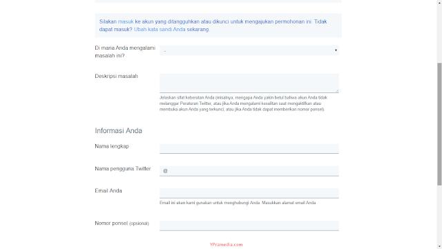 Cara Mengatasi Akun Twitter yang Ditangguhkan / Disuspend