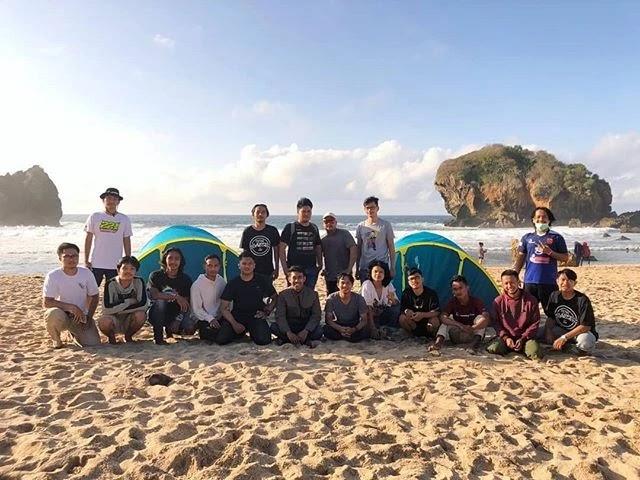 Pantai Jungwok - Foto @trah_kuwus