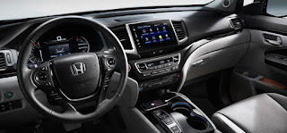 Honda Pilot Information Display