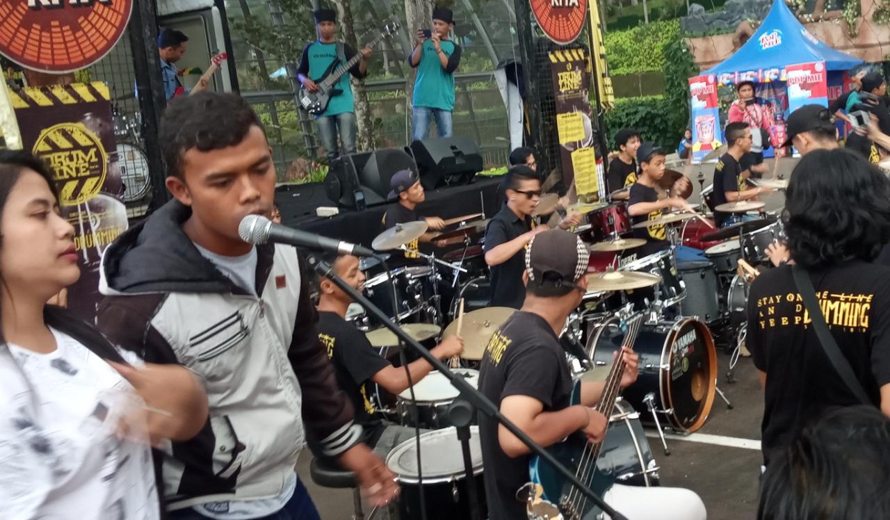 Kolaborasi 100 Musisi Sukabumi Pukau Pengunjung