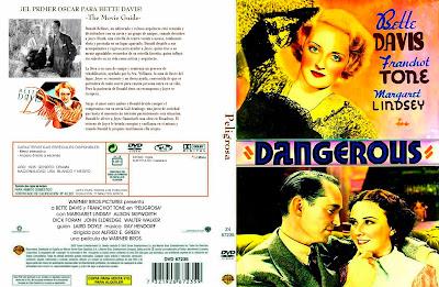 Carátula - Peligrosa (1935) Dangerous - Bette Davis