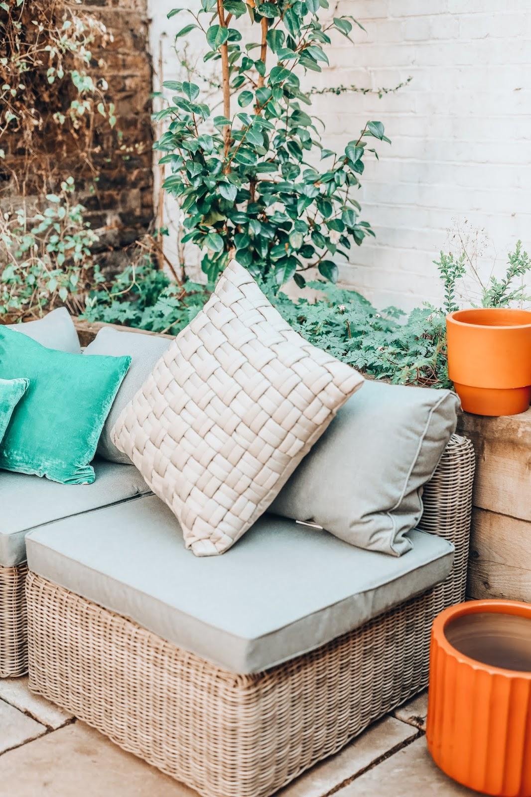 habitat rattan sofa