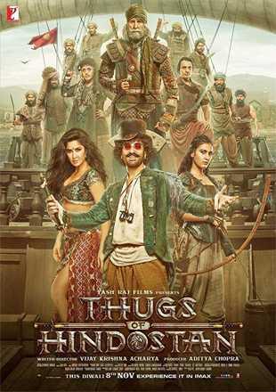 Thugs of Hindostan 2018 Full Hindi Movie Download BRRip 720p