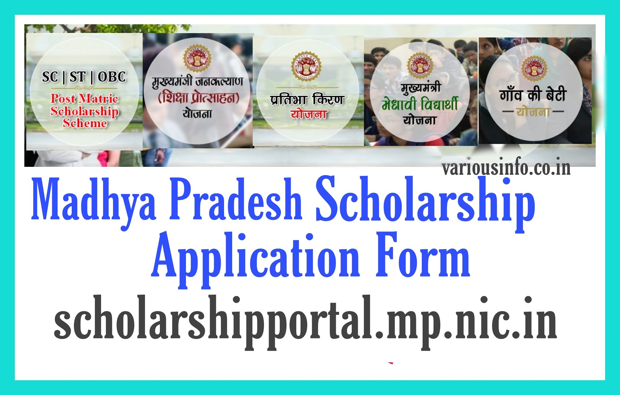MP Scholarship 2020 Portal Madhya Pradesh Scholarship @ scholarshipportal.mp.nic.in Registration, Scholarship Track Status, Awards Application Form 2020 Name Search KYC Students can apply for MP Scholarship and check status here.