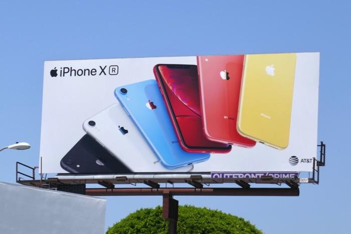 Apple iPhone XR Summer 2019 billboard