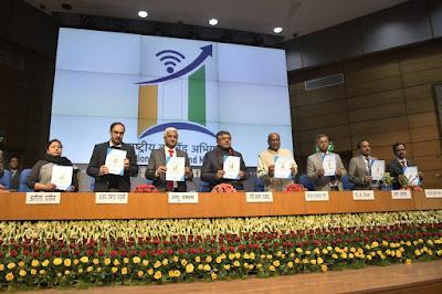 Minister Ravi Shankar Prasad launches National Broadband Mission (NBM)