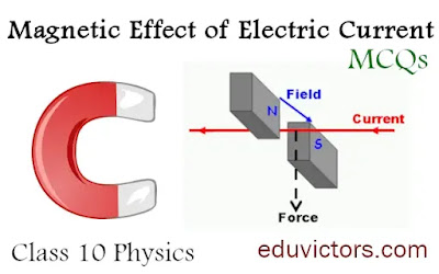Magnetic Effect of Electric Current - MCQs-2 - CBSE Class 10 Physics (#class10Physics)(#magnetism)(#cbsemcqs)