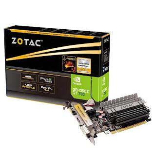ZOTAC GeForce GT 730 4GB DDR3 Graphics Card