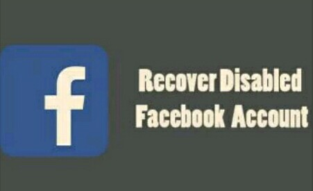 how to recover block or disable facebook account on android