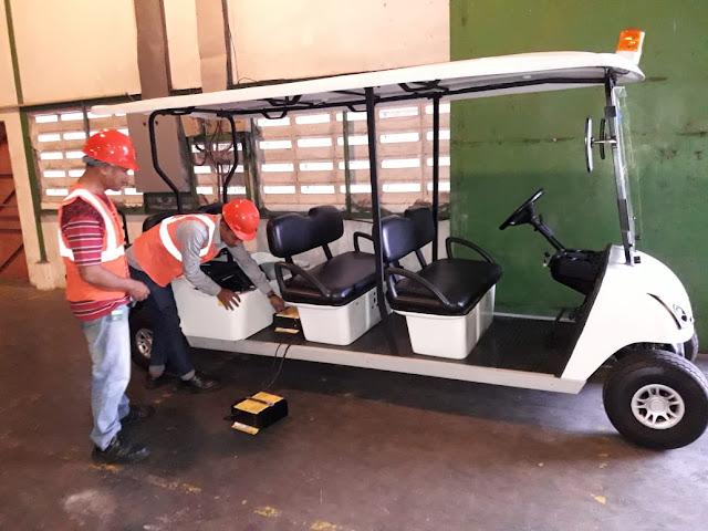 Jasa service berkala mobil golf