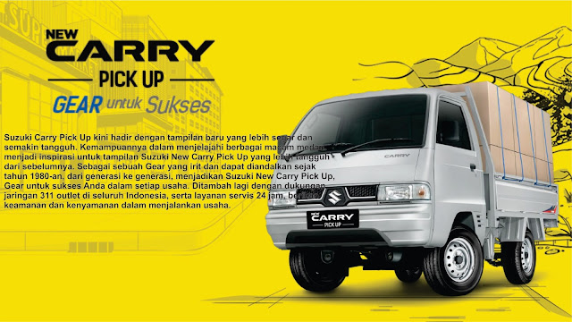TAMPILAN BARU SUZUKI NEW CARRY PICKUP 2017