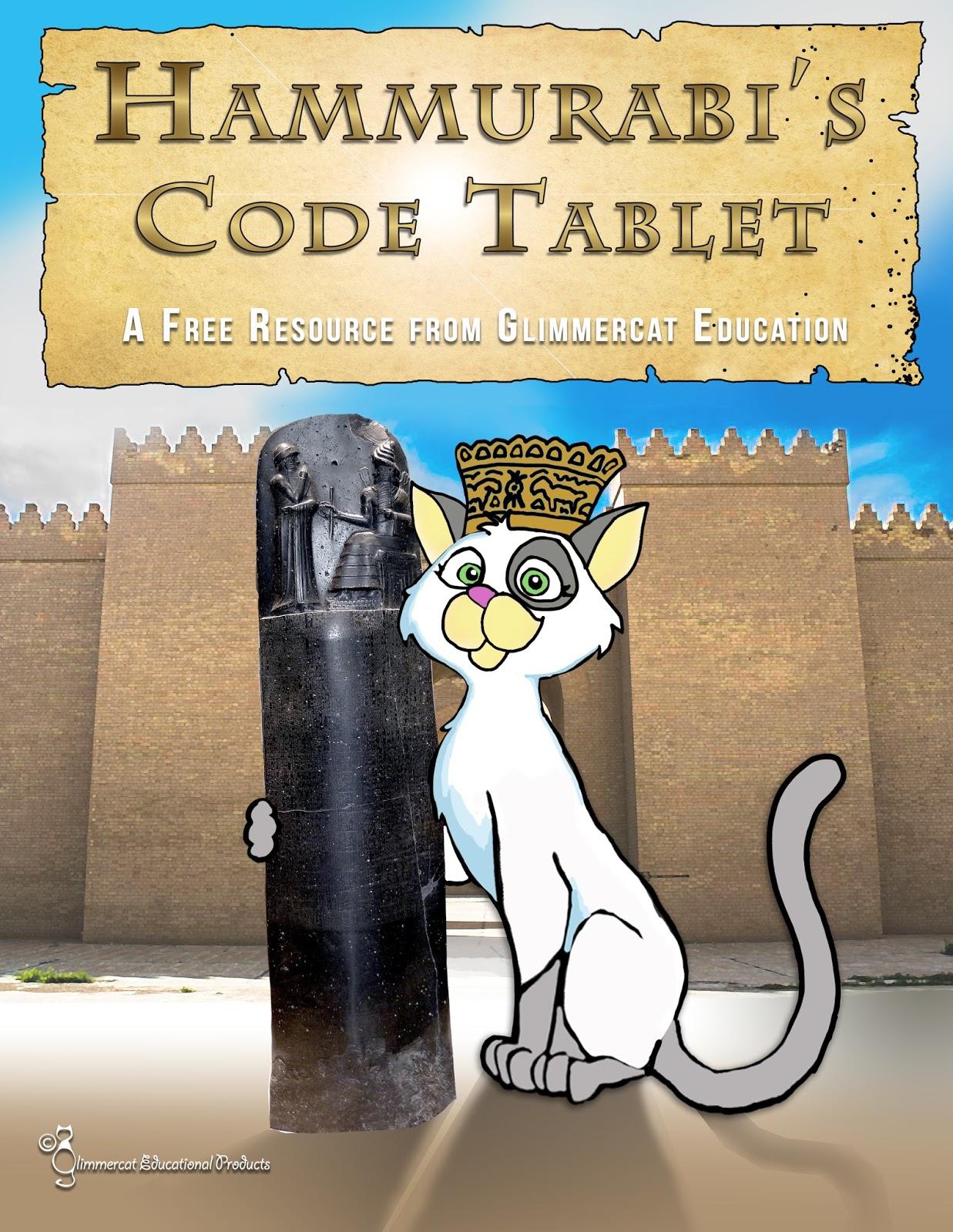 Glimmercat Education Hammurabi And His Code