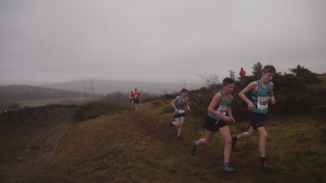 Helm Hill junior fell runners