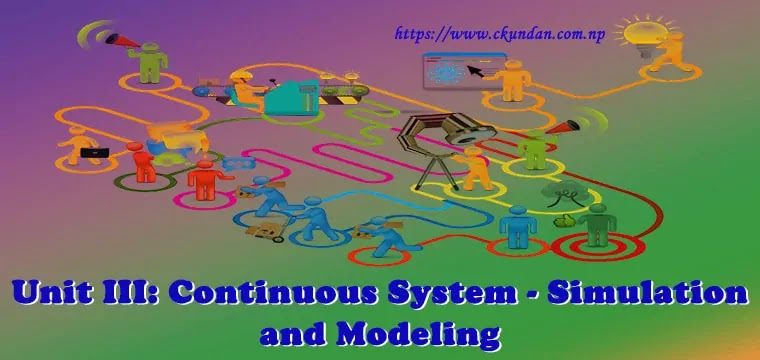 Continuous System - Simulation and Modeling