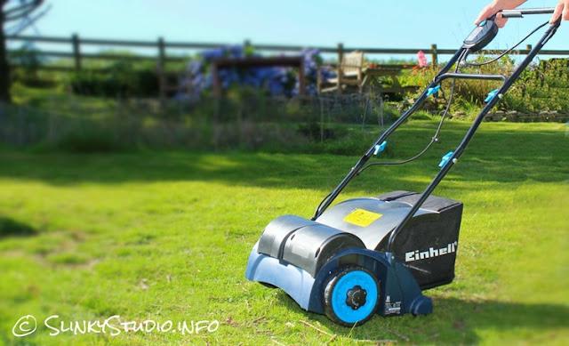 electric lawn aerator