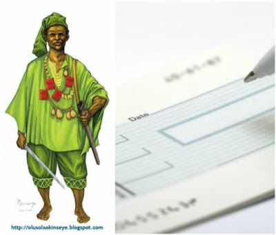 Yoruba man rejects N5 million cheque because it was given with a left hand