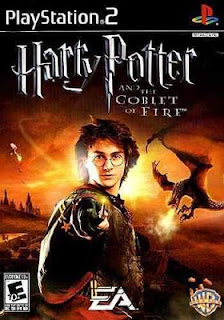 Capa Harry Potter e o Cálice de Fogo PS2