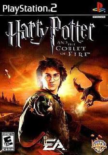 Capa Harry Potter e o Cálice de Fogo PS2