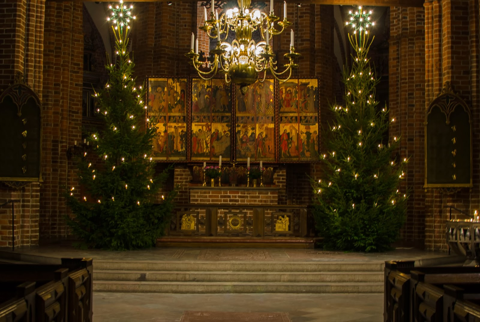 The Things I Enjoy: Christmas Trees In The Medieval Church