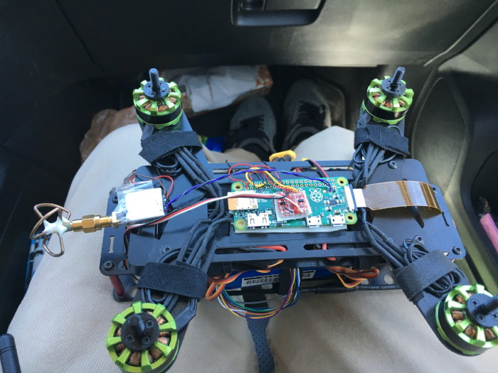 raspberry pi quadcopter fpv osd