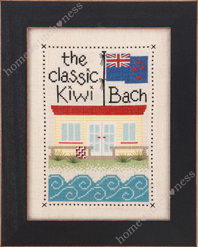 The Classic Kiwi Bach by homestitchness