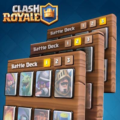 Kombinasi Kartu Battle Deck Terbaik di Arena 1 Sampai 3 Clash Royale