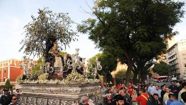 Salida Provisional Virgen de Valvanera en Sevilla (25/09/2021): Horarios e Itinerarios