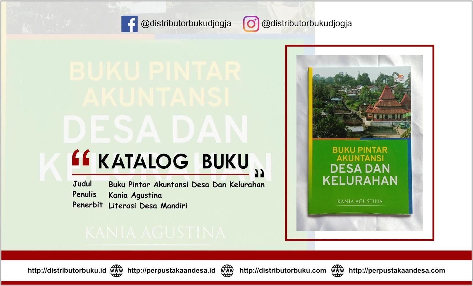 Buku Pintar Akuntansi Desa Dan Kelurahan