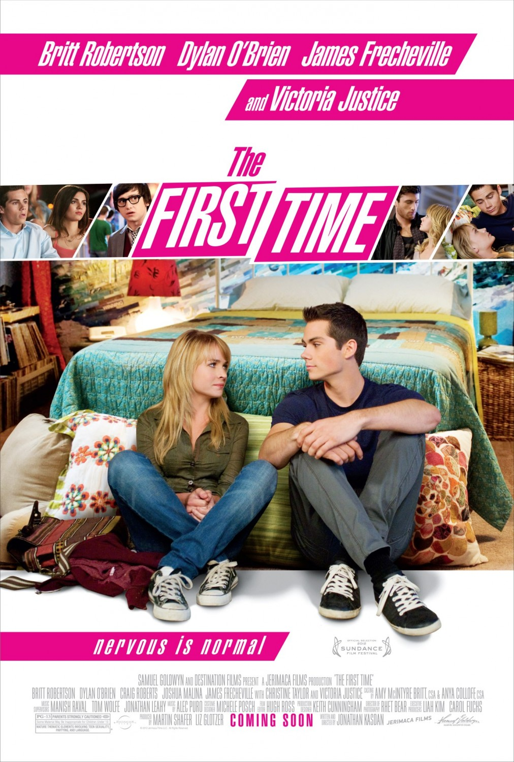 Nonton Film The First Time (2012)