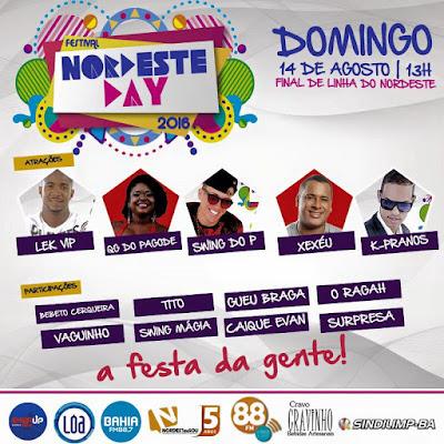 Festa de São Roque e 5ª Festival Nordeste Day 2016 alteram tráfego em Salvador